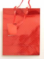 Small Red Holographic Gift Bag